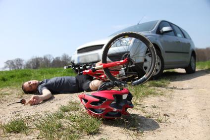 Unfall mit Auto und Fahrrad